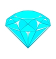 Diamond icon cartoon style vector image vector image