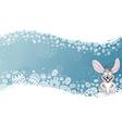 Easter frame vector image