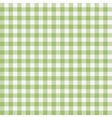 Green checkered tablecloths pattern vector image vector image