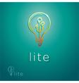Lite Symbol vector image