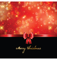 merry christmas background 0609 vector image vector image