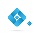 Square abstract sign vector image vector image