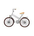 bike isolated vector image