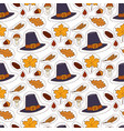 happy thanksgiving day hats design holiday vector image vector image