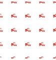 truck with hook icon pattern seamless white vector image vector image