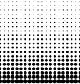 Geomentic Background Halftone vector image