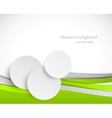 Abstract brochure vector image