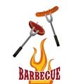 Barbecue grill design vector image