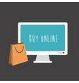 Buy online vector image