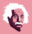 einstein developed theory relativity one vector image vector image