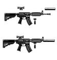 american automatic assault rifle design element