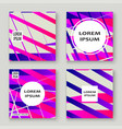 colorful striped lines pattern geometric shape vector image vector image