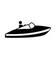 jet ski design vector image vector image