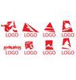 Logo designs vector image vector image