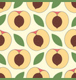 peach seamless stylized background vector image