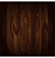 Wood texture brown background vector image vector image