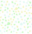abstract cute seamless pattern background vector image vector image