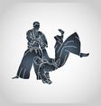 aikido logo icon vector image