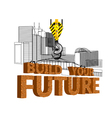 build your future vector image