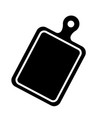 cutting board icon vector image
