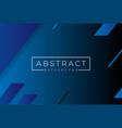 dark blue abstract landscape 3d background vector image vector image