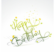 Funny Birthday card vector image