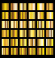 gold gradient golden metal squares vector image vector image