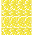 Lemon Slices Background vector image