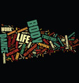 life is a dance channelled text background word vector image vector image