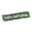 natural stamp texture rubber cliche imprint web vector image