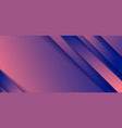 abstract diagonal stripes blue and pink gradient vector image vector image