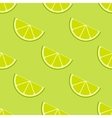 bright lime slices seamless background vector image vector image