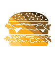 hamburger icon vector image