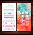 love is everywhere marriage theme poster vector image vector image