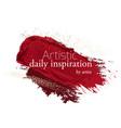 make-up grunge glitter brush strokes clipart in vector image vector image