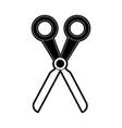 scissors cut icon image vector image vector image