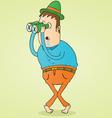 Secret admirer vector image vector image