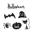 Set of Halloween characters for desigen vector image vector image