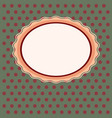 vintage window background vector image vector image