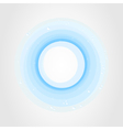 blue circle vector image vector image