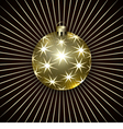 Christmas Decoration Ball vector image vector image
