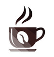 coffee cup icon vector image