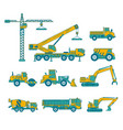 construction set vector image