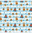 dirndl dress lederhosen oktoberfest pattern vector image vector image