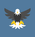 eagle icon vector image