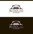 emblems car vector image vector image