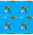 spray mixer seamless pattern vector image vector image