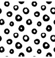 circle grunge seamless pattern vector image vector image