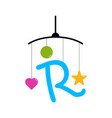 initial letter r toy baby
