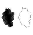 kayah state map vector image